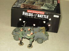 KING & COUNTRY FOB20 KUBELWAGON WITH THREE FIGURES FROM FIELDS OF BATTLE SERIES
