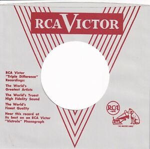 RCA Company Reproduction Record Sleeves - (  pack of 10 )