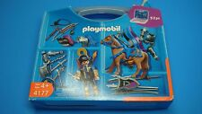 Playmobil 4177 Knight Carrying Case never played for collectors Geobra toy