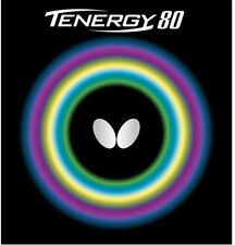 Butterfly Tenergy 80 2.1mm Red Table Tennis Ping Pong Rubber