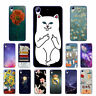 Soft TPU Silicone Case For HTC Desire 628 Protective Back Covers Skins Cats