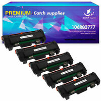 5PK High Yield Toner Compatible for Xerox 106R02777 WorkCentre 3215 3225 3260