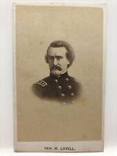 New listing Original Civil War Era Cdv Confederate General Mansfield Lovell Csa