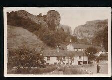 Somerset CHEDDAR Lion Rock c1920/30s? RP PPC