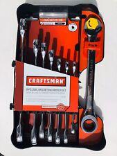 Craftsman 914755 8pc Dual Ratcheting Wrench Set Standard