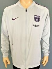 Training Sweatshirt FC Bracelona 2018-2019 Kitroom Player Issue Gray