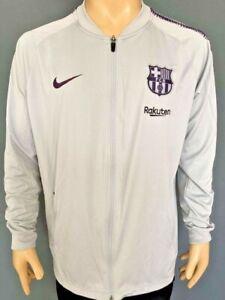 Training Sweatshirt FC Bracelona 2018-2019 Kitroom Player Issue Gray
