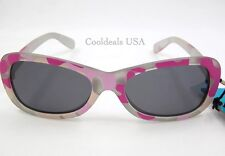 Jimmy Houston Skipper Series Pink Camo Polarized Sunglasses for Kids - New