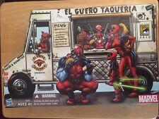 2013 SDCC Exclusive Marvel Universe DEADPOOL CORPS Taco Truck 5 Figure Set