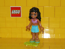 Lego Kate with Striped Bikini Top & Flippers NEW
