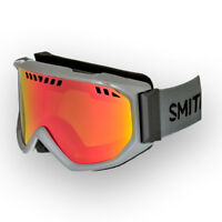 Smith Scope Air Charcoal Goggles w/ Red Sol X Lens