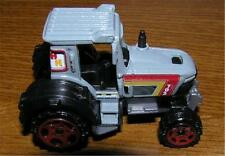 New Loose Matchbox 2007 Gray, Yellow, and Red H H Tractor