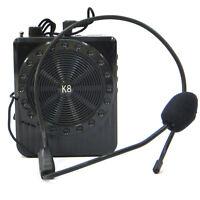 Megafono amplificatore voce 5W microfono mp3 USB microSD K8 guide turistiche