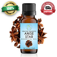 Anise Star Essential Oil 10 ml 100% Pure & Natural Therapeutic Grade