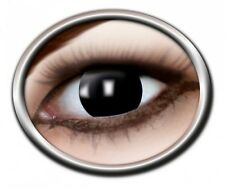 ZOE BLACK WITCH lentille de couleur noire lens contact halloween vampire