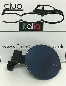 Fiat 500 Fuel Flap in Blue