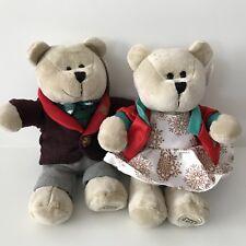 Starbucks Limited Christmas Holiday 2017 Winter Bearista Bears Boy And Girl
