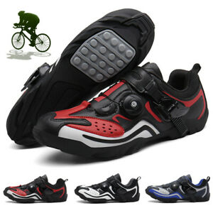 Cycling Shoes Men Road Bike Shoes Anti-Slip Breathable Triathlon Sports Sneakers