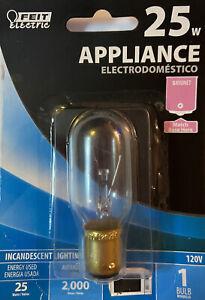 Feit Electric Appliance 25w Bulb Bayonet 120v  BP25T8DC