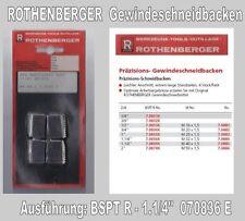 """Präzisions-Schneidbacken, BSPT  R.  Gewindeschneidbacken 1.1/4"""" Rothenberger"""