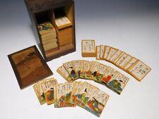 Ogura Hyakunin Isshu Waka poets Card Game 100/100 Japan Meiji Original Antique