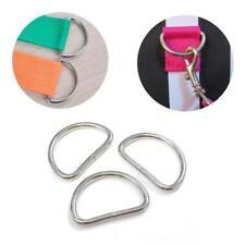 D-Ringe Halbrunde Schnalle Halbrundring D-Ring Metallring J8 25mm V9S1 I4Y9 J8X0