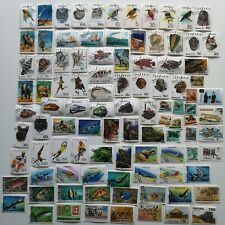 200 Different Tanganyika and Tanzania Stamp Collection
