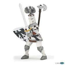 "Papo 39785"" Crested Knight Figure White"