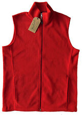 Men's WOOLRICH Red Andes Fleece Vest XL (Extra Large) NWoT NEW Nice!