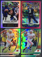 2013 Topps Chrome Russell Wilson Silver Pink Refractor 4 Card Lot /249 399 Prizm