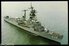 USS Jonas Ingram DD-938 destroyer postcard  US Navy ship