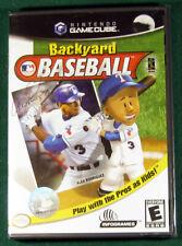 Backyard Baseball (Nintendo GameCube, 2003) Complete Box CIB, Brand New Sealed