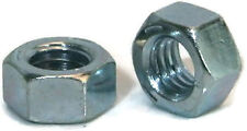 "Hex Finished Nuts Grade 2 Zinc Nut - 1/2""-13 UNC - Qty-100"