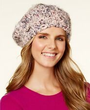 7b6e28ae89bb1 Steve Madden Women s blush confetti knit beret with pom pom