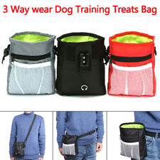Pet Dog Cat Training Food Waist Pouch Bait Treat Snack Bag Storage Pocke-SL GK