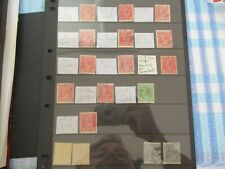 KGV Stamps:  Varieties Used   - Must Have  (t362)