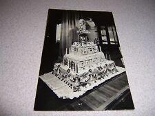 1930s FRANKLIN D. ROOSEVELT BIRTHDAY CAKE REAL-PHOTO RPPC POSTCARD