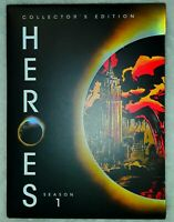 Heroes - Complete First Season (DVD, 2007, 8-Disc Set) Collectors Edition NBC TV