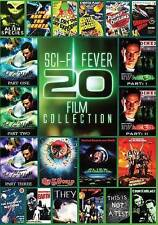 Sci-Fi Fever: 20 Movies (DVD, 2013, 4-Disc Set) New