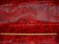 RALPH LAUREN  18.00 SQ FT BLACK CHERRY CROCODILE COWHIDE LEATHER UPHOLSTERY