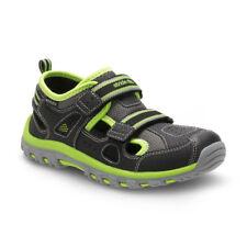 NEW Stride Rite M2P Thatcher Toddler Boys, Size 3M Black/Green  CB56744