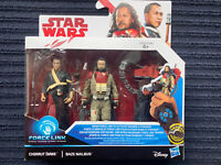 """Star Wars Baze Malbus and Chirrut Imwe 3.75"""" Force Link Action Figures"""