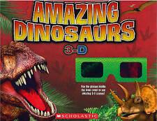 Increíble dinosaurios 3-D, Nancy honovich-Libro De Bolsillo Nuevo 9781407153698