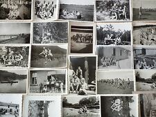 24 ORIG. fotos desnudas alemán Wehrmacht soldados bañador, tomar el sol, playa