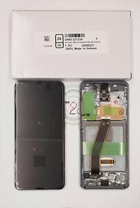 Genuine Samsung Galaxy S20 G980 S20 5G G981 LCD Assembly Cosmic Grey GH82-22123A