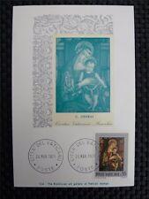 VATICAN MK 1971 MADONNA & CHRISTUS GEMÄLDE MAXIMUMKARTE MAXIMUM CARD MC CM a8782