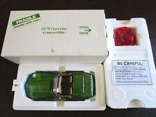 1:24 Danbury Mint 1975 Chevrolet Corvette Stingray L-82 Covertible L w/ Box