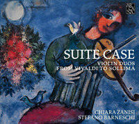 CHIARA ZANISI &...-SUITE CASE-VIOLIN DUOS FROM VIVALDI TO SOLLIMA-JAPAN CD G22