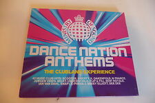 DANCE NATION ANTHEMS 2CD MINISTRY OF SOUND.SCOOTER N-TRANCE OAKENFOLD MAUVE ....