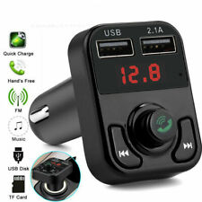 Wireless Bluetooth Car MP3 FM Transmitter 2USB Charger Hand free Support TF Card